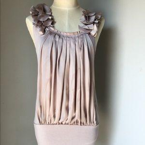 Arden B gold rose Mini Dress sz. M